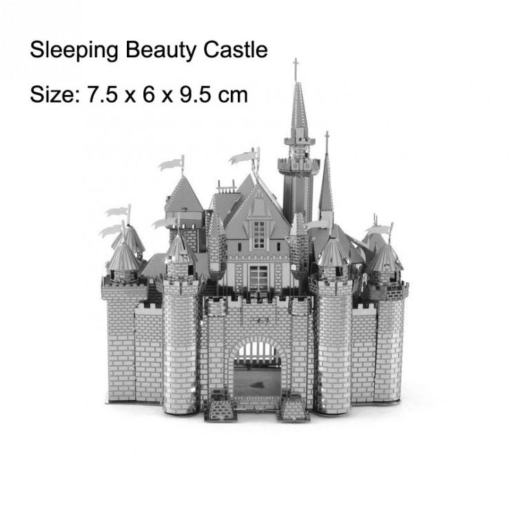 Металевий 3D-пазл замок