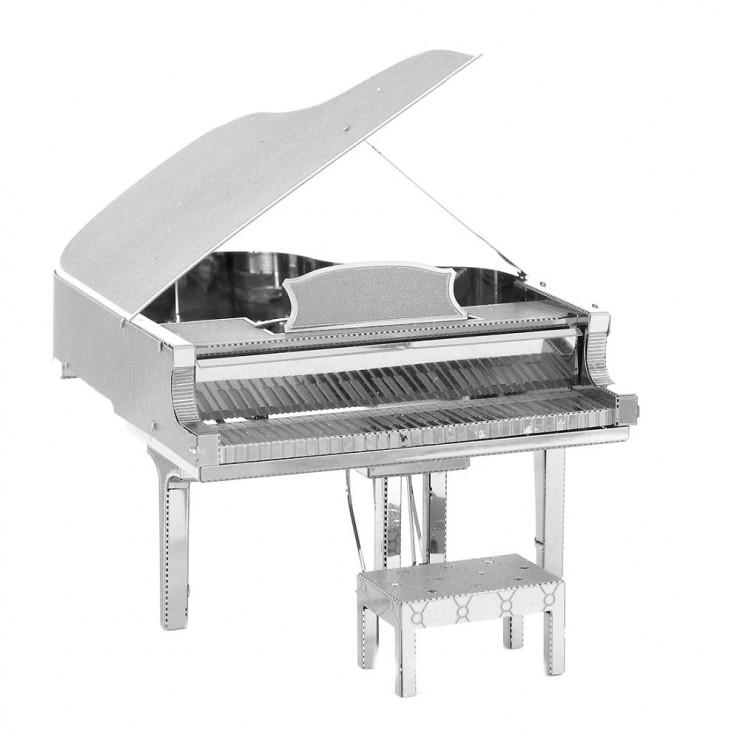 Металевий 3D-пазл рояль
