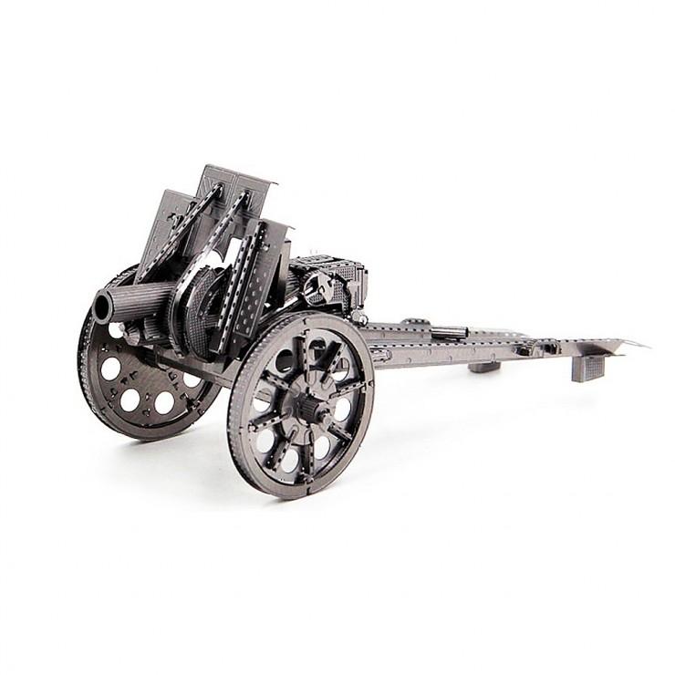 Металевий 3D-пазл гармата