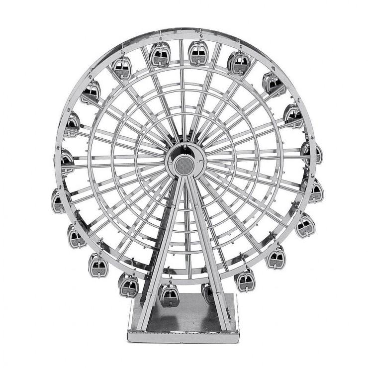 Металевий 3D-пазл колесо огляду