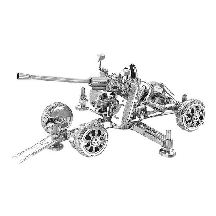 Металевий 3D-пазл зенітна гармата