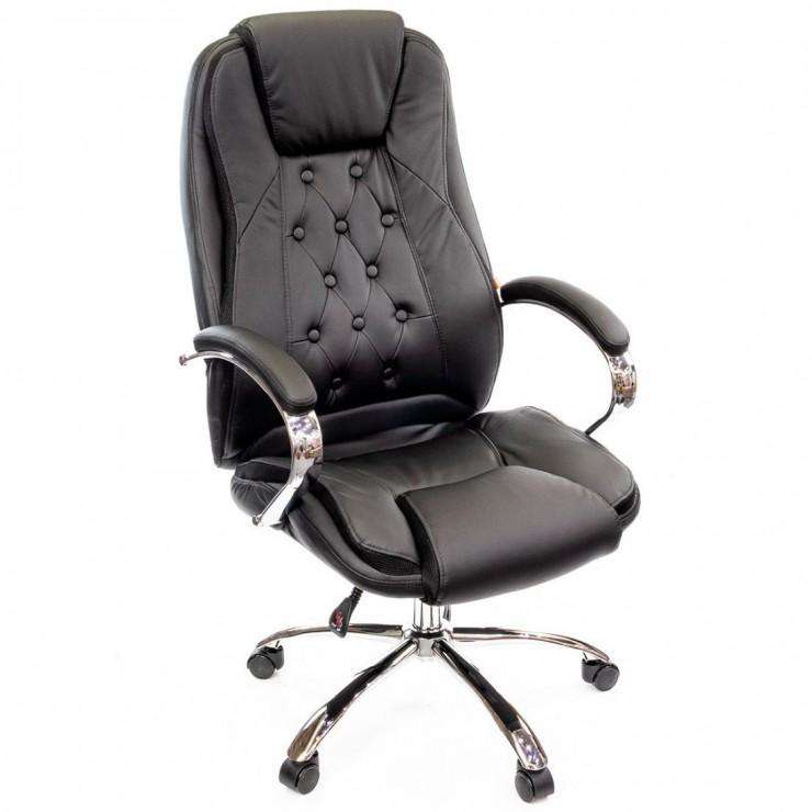 Крісло керівника темно-коричневий