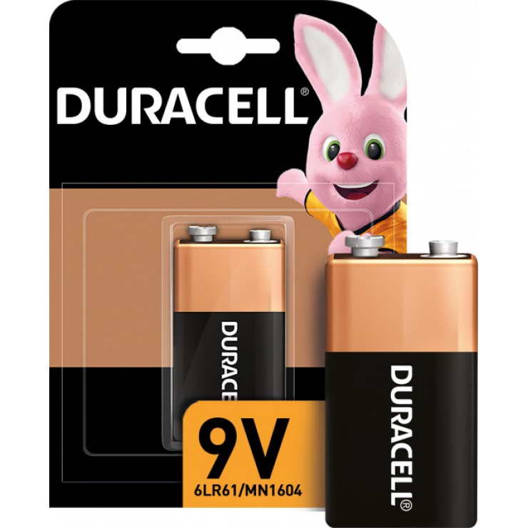 Батарейка крона 9v 6LF22/MN1604 K1 (6LR61/MX1604) 1шт