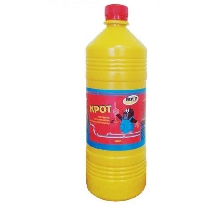 Засіб для чищення труб та каналізацій У
