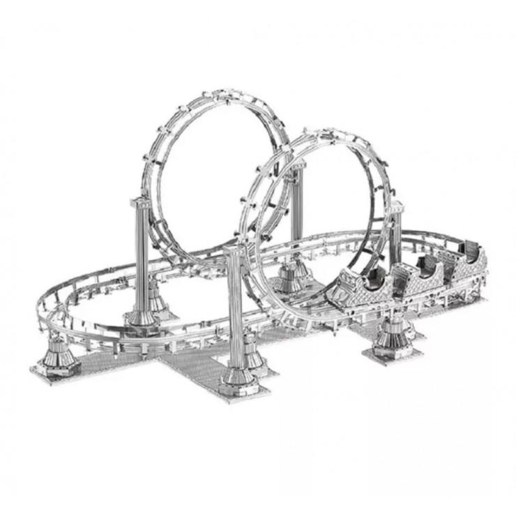 Металевий 3D-пазл американські гірки