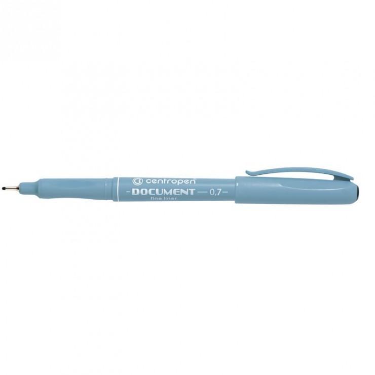 Лінер 07(07)мм ручка чорний