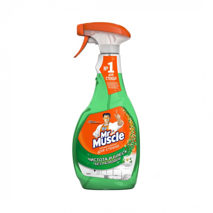 Засіб для миття скла з розпилювачем У Mr.Muscle